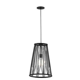 Wrought Studio Grullon 1-Light LED Cone Pendant