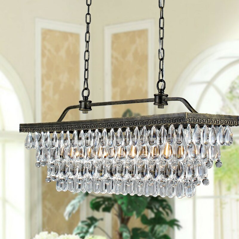 June 4 light crystal chandelier