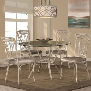 Anton 5 Piece Dining Set by Fleur De L..