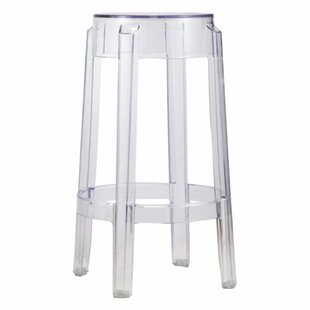 Mercer41 Brislington Transparent Accent Stool