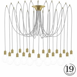 Ian 19-Light Cluster Pendant by 17 Stories