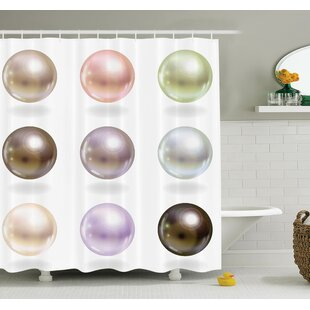 Shiny Bridal Gleam Art Shower Curtain Set