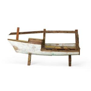 Garderobenbank Holika Boot von Massivum