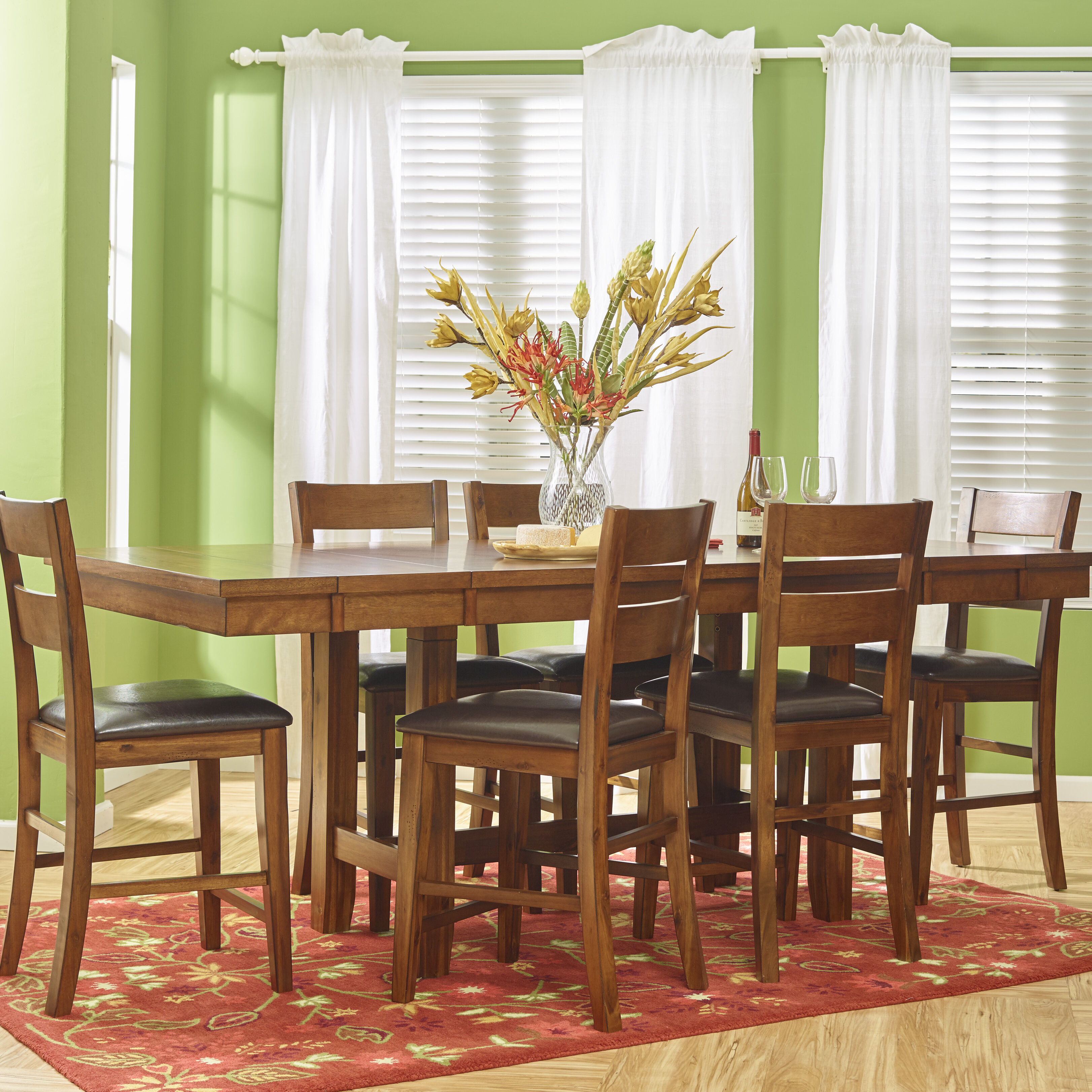 Loon Peak Fort Morgan Dining To Counter Height Table | Wayfair