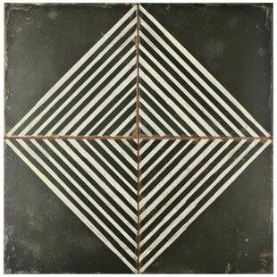 Modern WhiteCream Floor Tile AllModern - 13x13 white ceramic floor tile