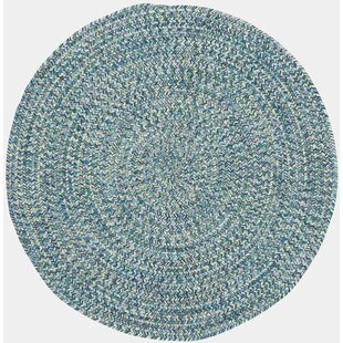 Lemon Grove Ocean Blue  Area Rug by Beachcrest Home