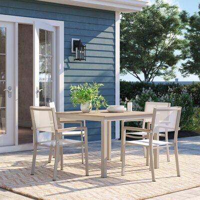 Caspian 5 Piece Dining Set by Sol 72 Outdoor Best Design