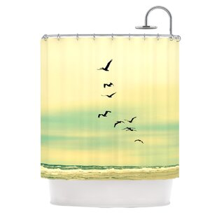 KESS InHouse Across The Endless Sea Shower Curtain
