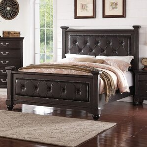 Mulberry Upholstered Platform Bed by A&J Homes Studio