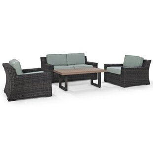 Linwood 4 Piece Sofa Set with Cushions