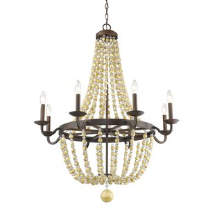 Bay Isle Home Prather 8-Light Empire Chandelier