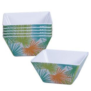 Paradise Melamine Ice Cream Bowl (Set of 6)