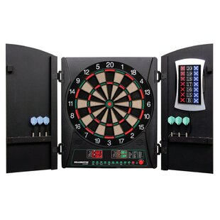 Cricketmaxx 3 Piece 1.0 Electronic Dartboard Cabinet Set by Arachnid