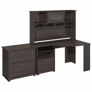 Superior Hillsdale Corner Desk With Hutch And Lateral File
