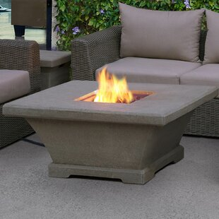 Real Flame Real Flame Monaco Concrete Propane Fire Pit Table