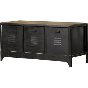 Merwin Metal Storage Bench