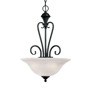 Fleur De Lis Living Westhought Devonshire 3-Light Bowl Pendant