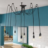 Deals on Mercury Row Defrancisco 10-Light Cluster Bulb Pendant