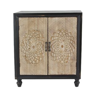 Gossard Traditional Wood 2 Door Accent Cabinet by Bungalow Rose