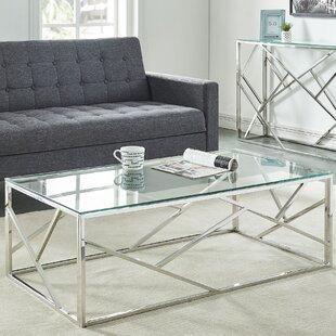 House of Hampton Mentzer 2 Piece Coffee Table Set