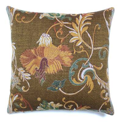 The Pillow Collection Fiachra Paisley Throw Pillow Cover