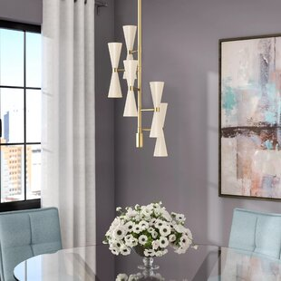 Langley Street Faith 10-Light Sputnik Chandelier
