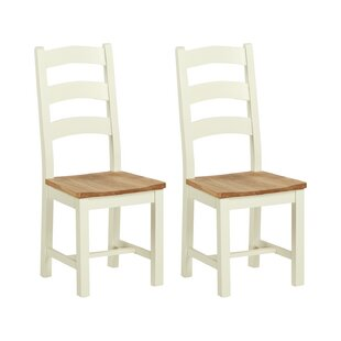 Longview Solid Wood Dining Chair (Set Of 2) By August Grove