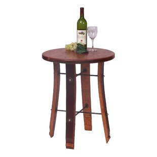 Stave End Table by 2 Day Designs, Inc