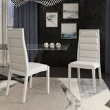 Tansey Upholstered Dining Chair (Set of 2) by Orren Ellis