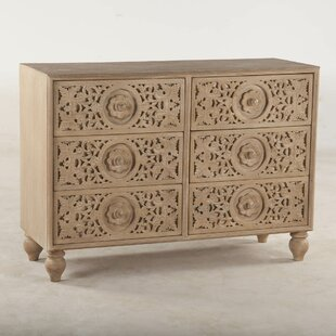 Maderia 6 Drawer Double Dresser