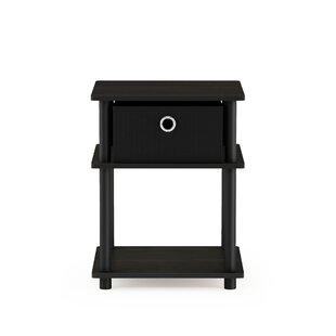 Crandell 3-Tier End Table with Storage Bin by Symple Stuff