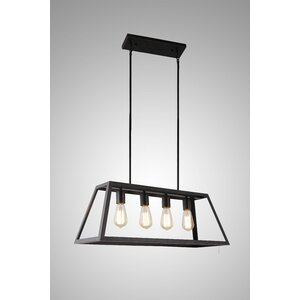 McFetridge 4-Light Kitchen Island Pendant