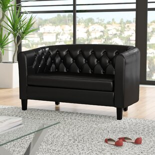 Best Reviews Beaton Standard Loveseat by Wade Logan Reviews (2019) & Buyer's Guide