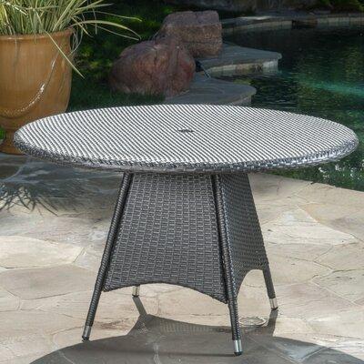 Bistro Table Color: Gray by Brayden Studio