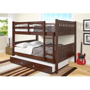 Inexpensive Hargrave Full over Full Bunk Bed with Trundle by Harriet Bee Reviews (2019) & Buyer's Guide