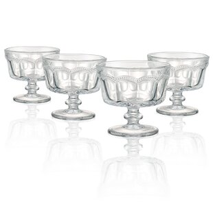 Great deal Kennesaw 8 oz. Mini Coupe Dessert Bowl (Set of 4) By Charlton Home