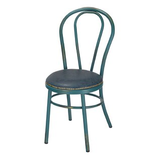 Adeco Trading Vintage Metal Side Chair (S..