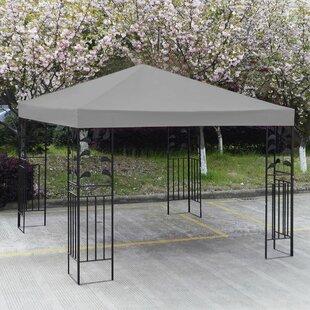 Elkins 3m X 3m Metal Pop-Up Gazebo By Sol 72 Outdoor