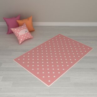 Fleet Pink Indoor/Outdoor Rug By Zoomie Kids