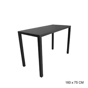 Finsbury Aluminum Dining Table By Ebern Designs