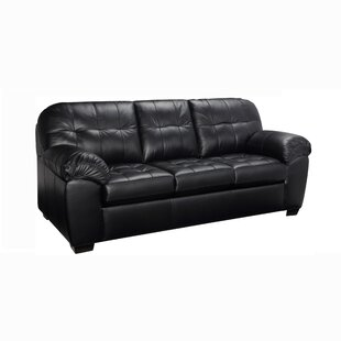 Bellamy Leather Sofa by Red Barrel Studio Read Reviews