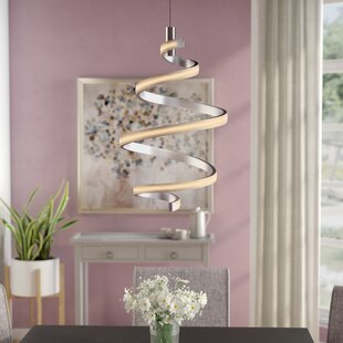 Orren Ellis Millie 1-Light LED Novelty Pendant