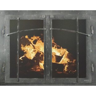 arched glass fireplace doors. Save To Idea Board Arched Glass Fireplace Doors