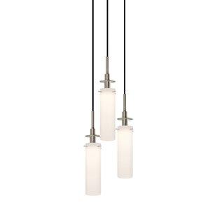 Candle 3-Light Pendant By Sonneman