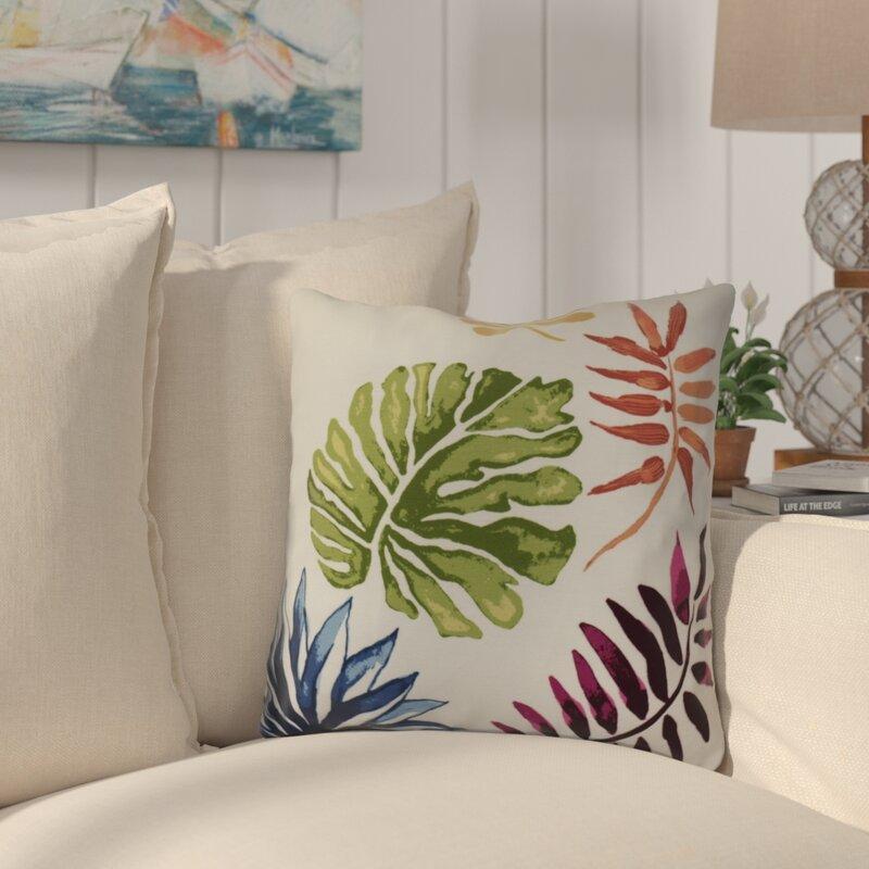 Costigan Brambles Floral Print Outdoor Throw Pillow
