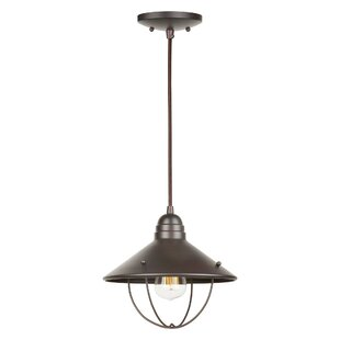 Breakwater Bay Tina 1-Light Cone Pendant
