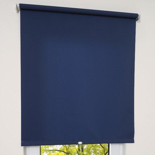 Springrollo Tageslicht ClearAmbient Farbe: Dunkelblau  Größe: 152 x 180 cm   Heimtextilien > Jalousien und Rollos > Springrollos   ClearAmbient