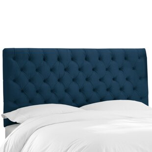 Wayfair Custom Upholstery™ Tufted Upholstered Panel Headboard