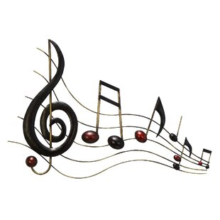 Musical Notes Wall Decor | Wayfair