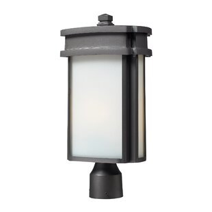 Affordable Price Cisbrough 1-Light Post Light By Charlton Home